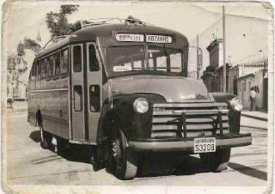 Παλιό λεωφορείο γραμμής Αθήνα -Κοζάνη.