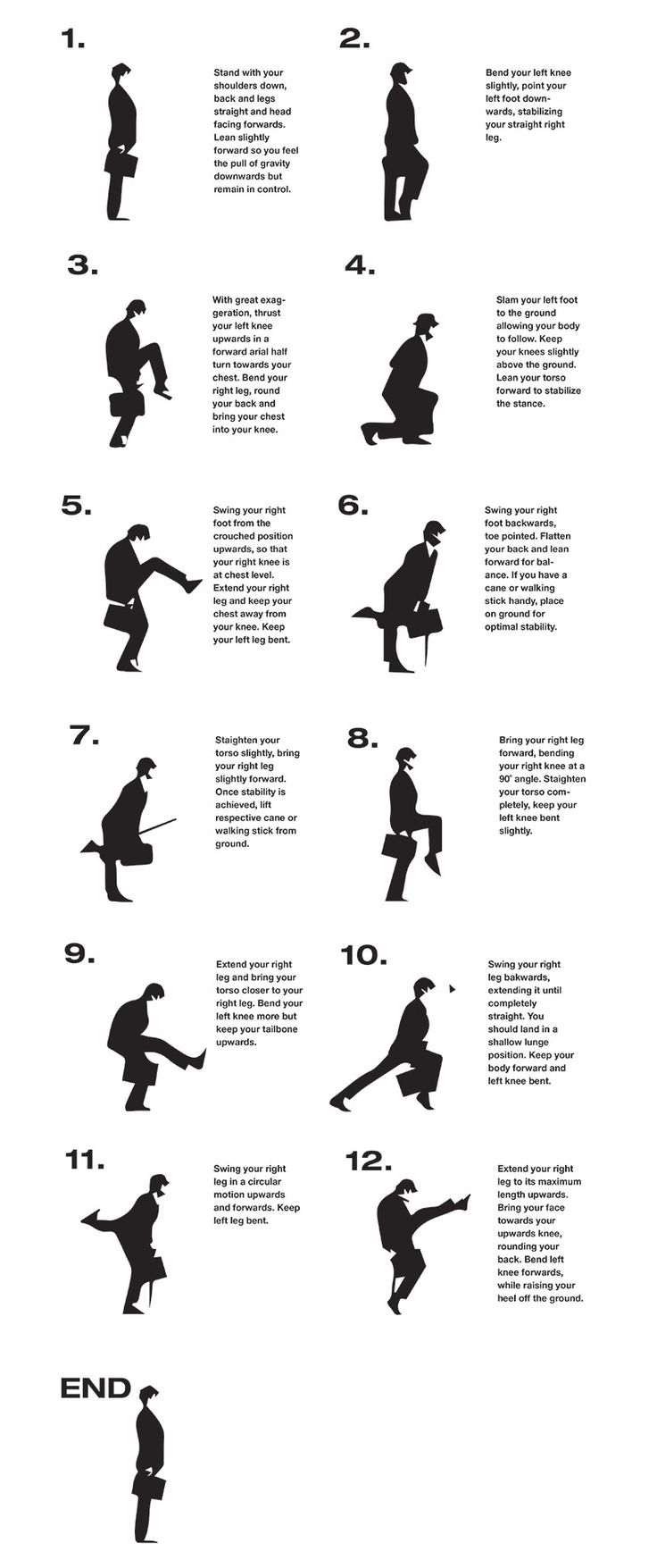 How To : The Ministry Of Silly Walks