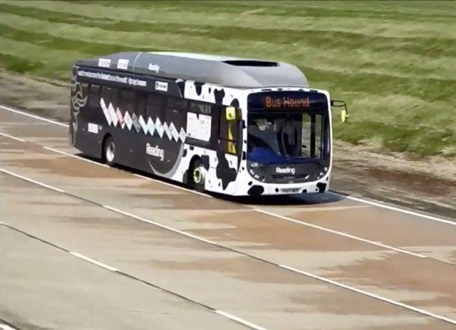 'Cow Poop Bus' running on bio-methane breaks service bus land speed record : TreeHugger