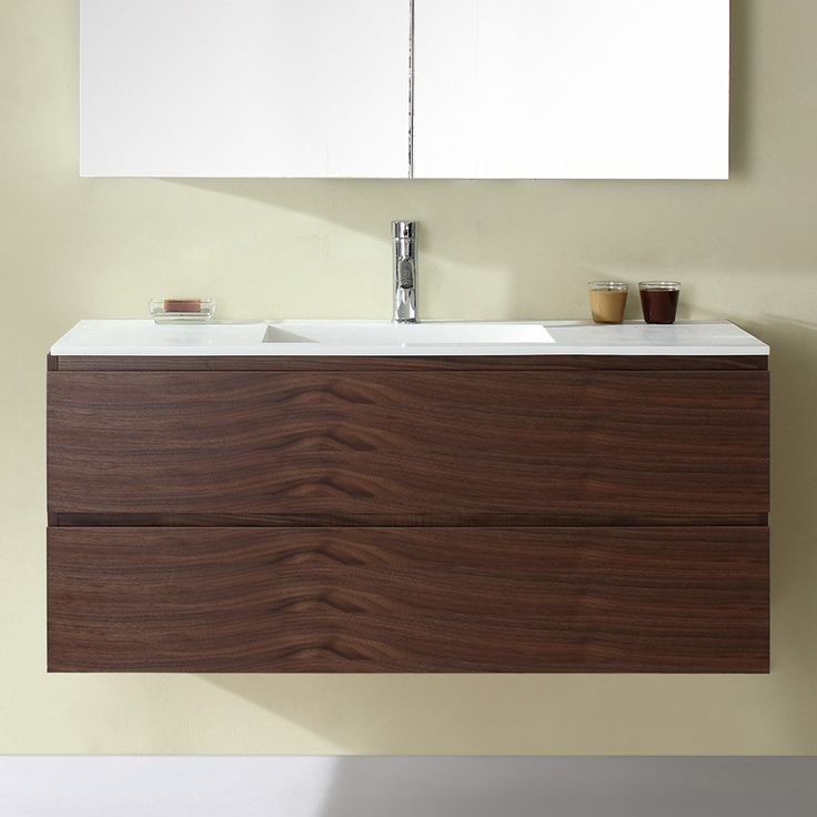 Madero 1200mm Vanity Walnut Veneer
