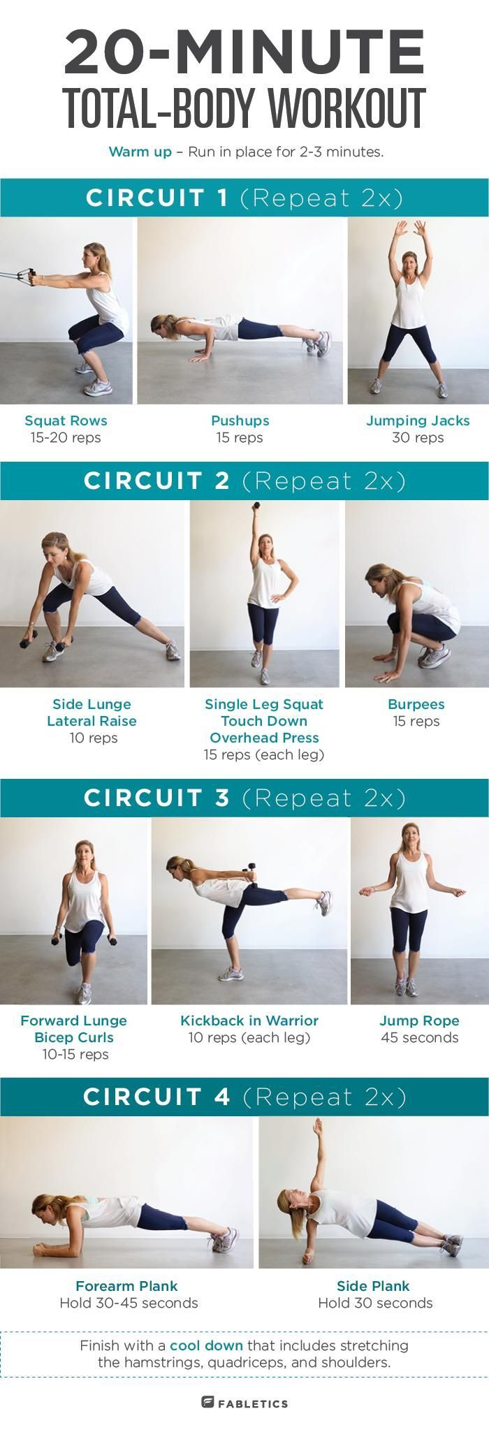 Pin On Body Workout