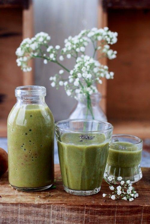 Reggeli zöld ital recept