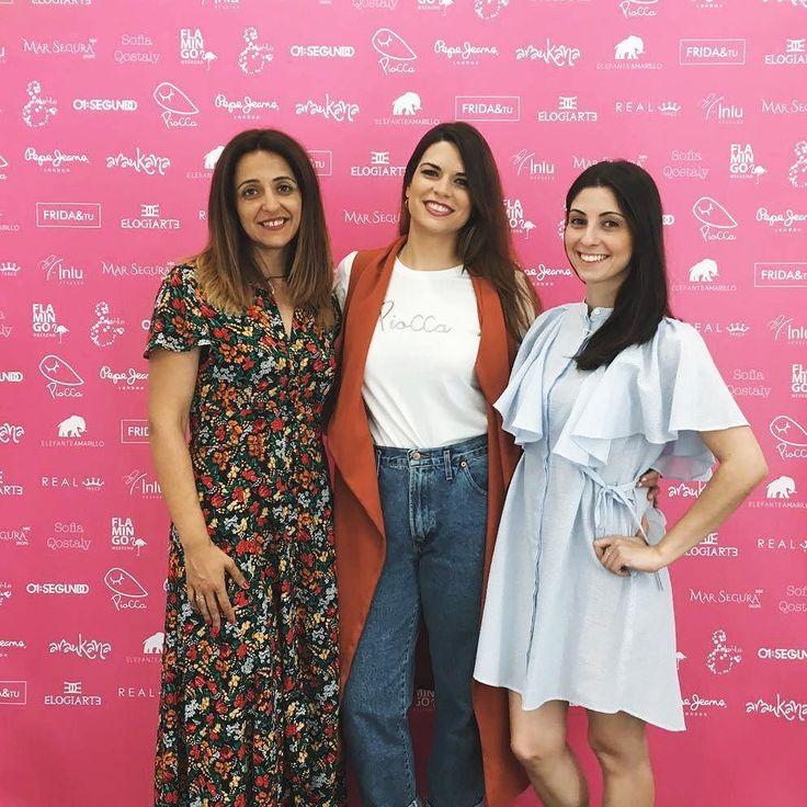 En @flamingoweekend con estas dos artistas de joyas @elogiarte y @elefanteamarillo_ . Venid a vernos!!! #piocca #flamingoweekend #moda #arte #diseño #marketpopup