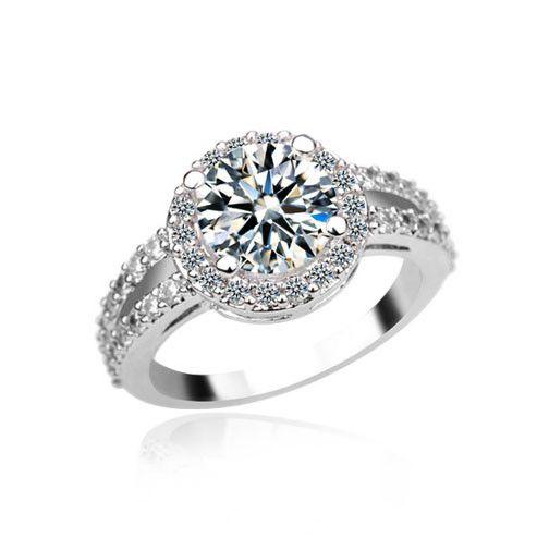 Прокладывая настройка AAA циркон обручальное кольцо покрытием 18 К белое золото белое золото кольцо с бриллиантом-Ювелирные изделия из цинкового сплава-ID товара::60389576869-russian.alibaba.com