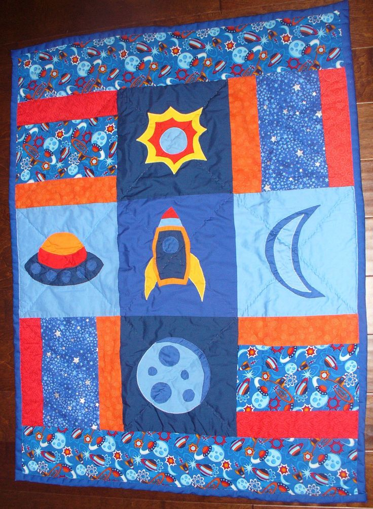 63 best images about little things for little boys on for Space quilt pattern