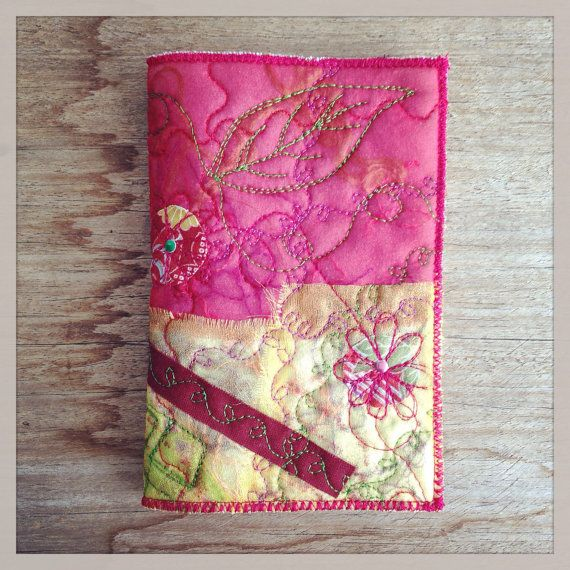mini journal with cover by gonerustic on Etsy