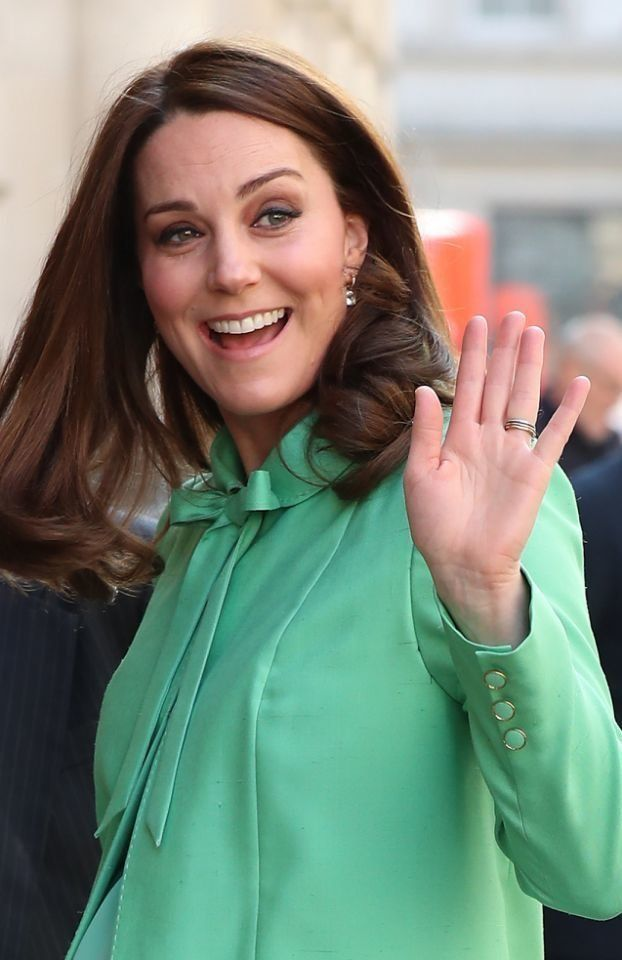 Kate Middleton's Mint Green Maternity Look Is The Ultimate In Spring Style