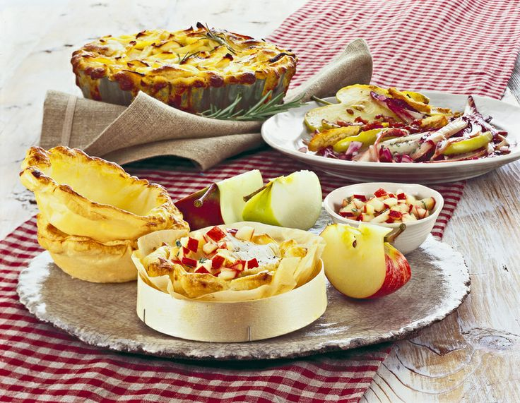 Tartellette calde al Camembert, timo e pepe