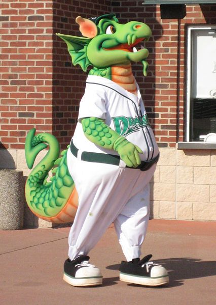 dayton dragons minor league baseball team mascot quotheater