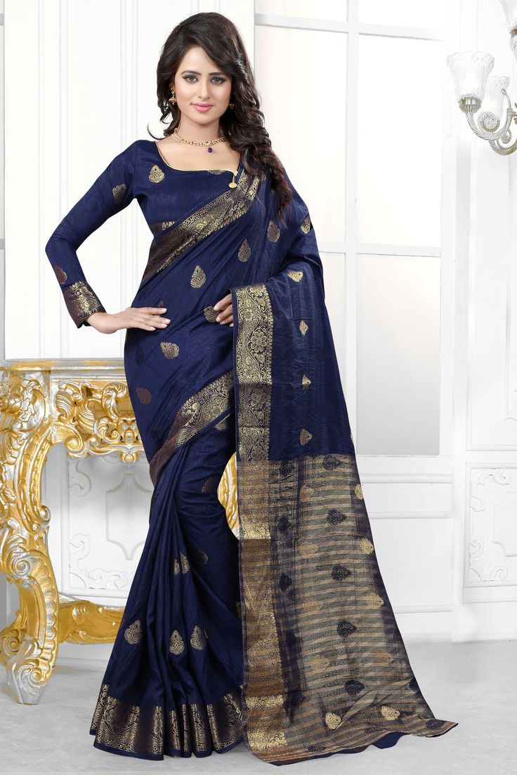 Off White Banarasi Silk With Jacquard Saree.