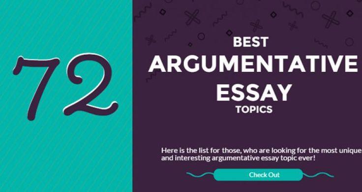 easy college argumentative essay topics