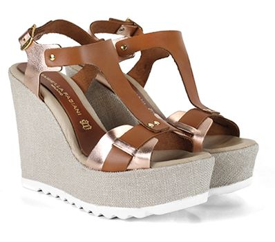 Fashionable Wedges @Gianna Kazakou Online