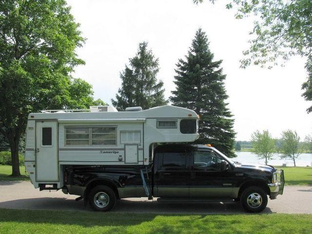 Used Campers For Sale In Pa >> truck campers | ... 4X4 CREW DIESEL DUALLY WITH CAMPER* Truck in Guelph, Ontario image 2 ...