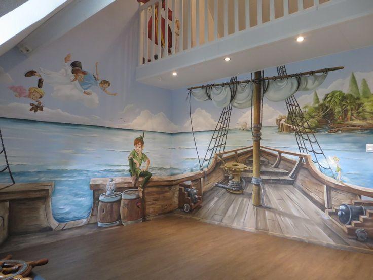 Anja Geertsma muurschilderingen