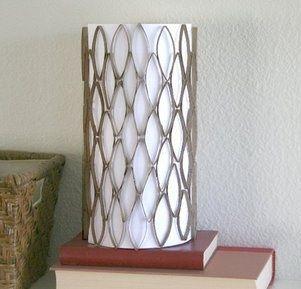 lamparas de pared con material reciclado - Buscar con Google