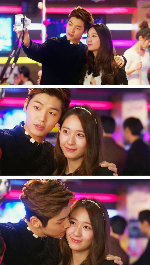 Visit www.kpopcity.net for the biggest KPOP fashion store in the world!! Krystal Jung and Kang Min Hyuk  #Kdrama - HEIRS / THE INHERITORS