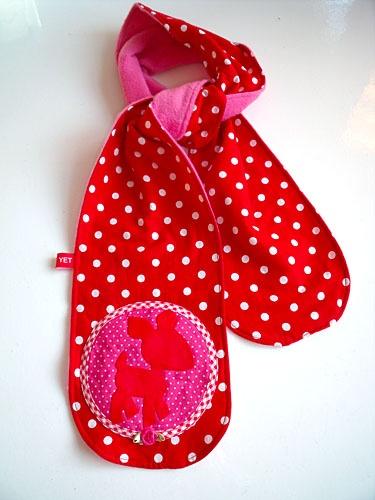 Mooie sjaal voor meisjes kinderen. Nice scarf for girls kids. #Diy