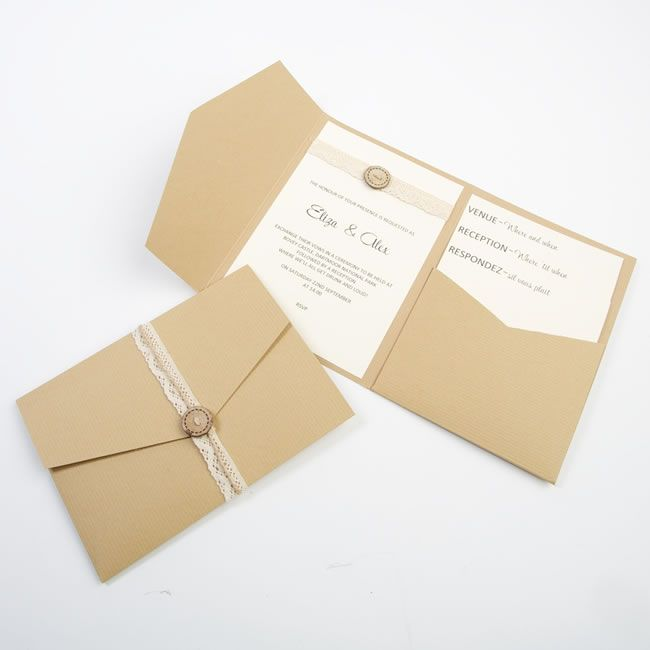 Win a DIY wedding stationery package worth over £100 with Pocketfold Invites!