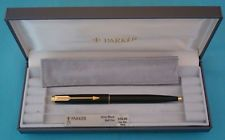 Parker 75 Matte Black Ball pen - New Old Stock