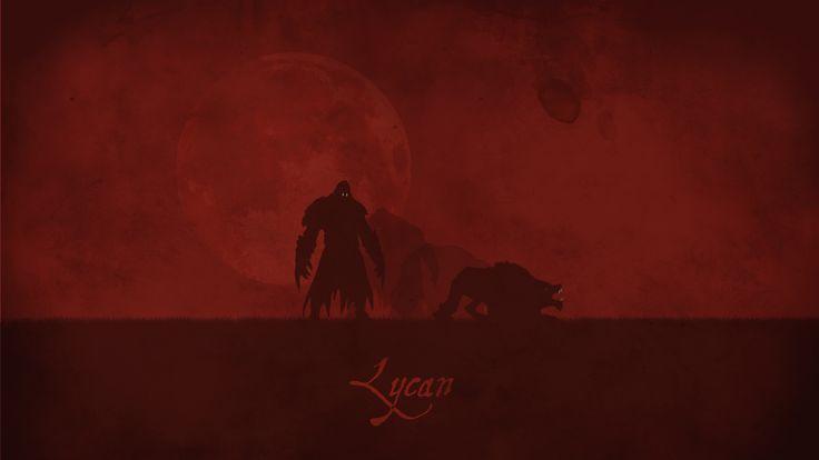 Lycan Vector Wallpaper, more: http://dota2walls.com/lycan/lycan-vector
