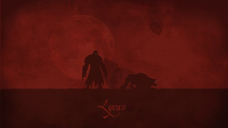 Lycan Vector Wallpaper, more: http://dota2walls.com/lycan/lycan-vector