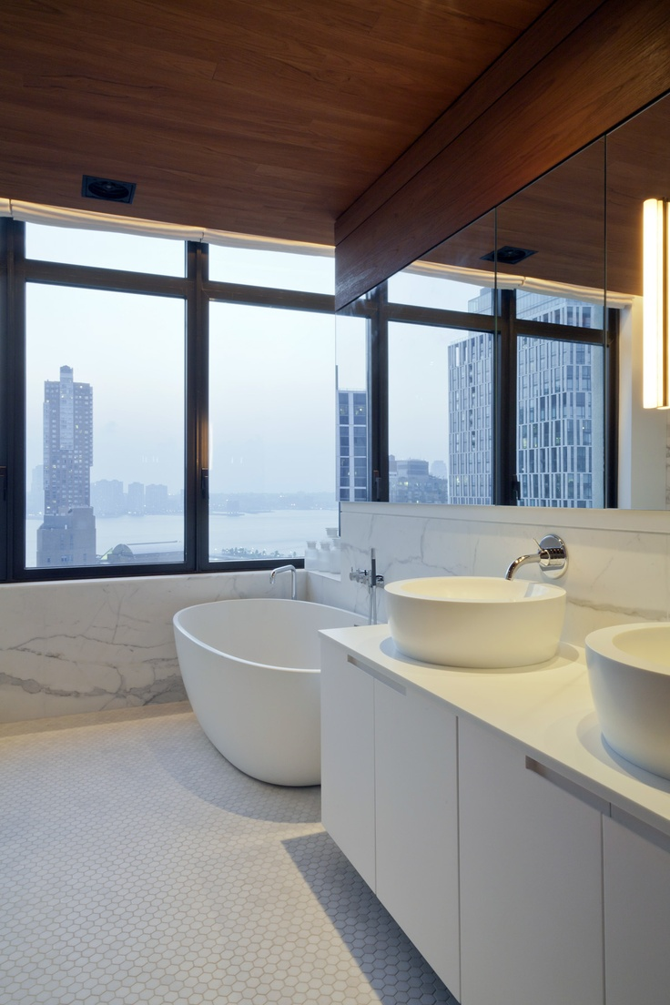 New York Bathroom With A View