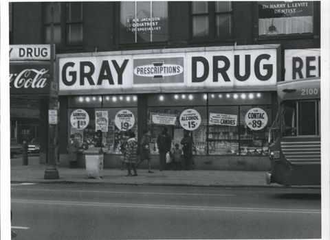 Gray Drug Store in Euclid in 1968. (Plain Dealer File Photo)