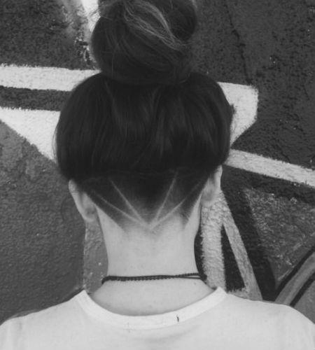 Женские стрижки андеркат: стрижки с выбритыми висками и затылком для любой длины…