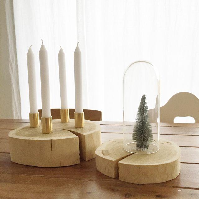 adventskranz auf baumscheibe 25 einzigartige baumscheiben deko weihnachten ideen auf. Black Bedroom Furniture Sets. Home Design Ideas