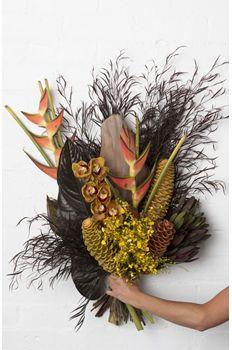 Pearsons Florist tropical flowers bouquet