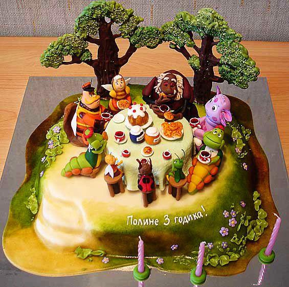 Украшение тортов для детей скачать