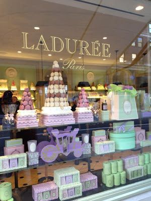 Laduree Madison Ave New York City  Macarrons