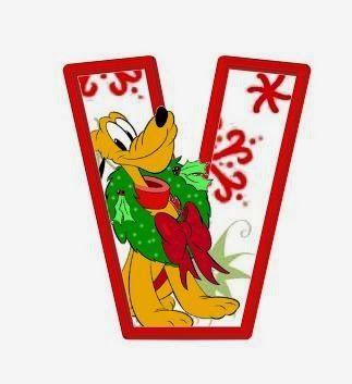 Alfabeto Navideño de personajes Disney. | Oh my Alfabetos!