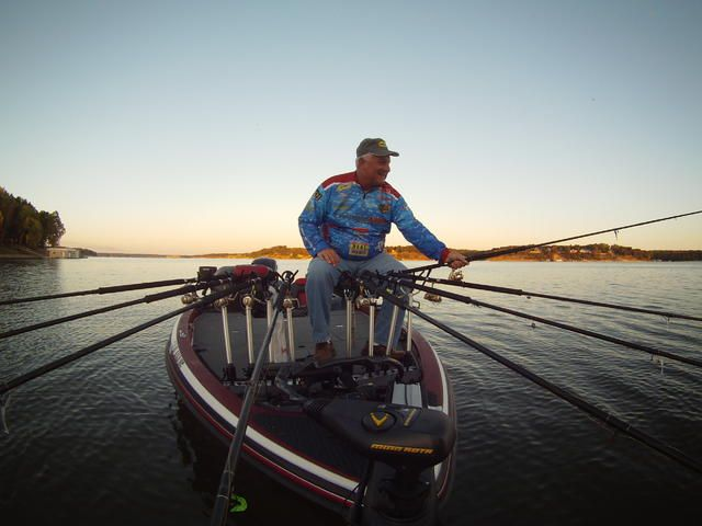 Abc s of spider rigging photo copyright brad for Spider rigs for crappie fishing