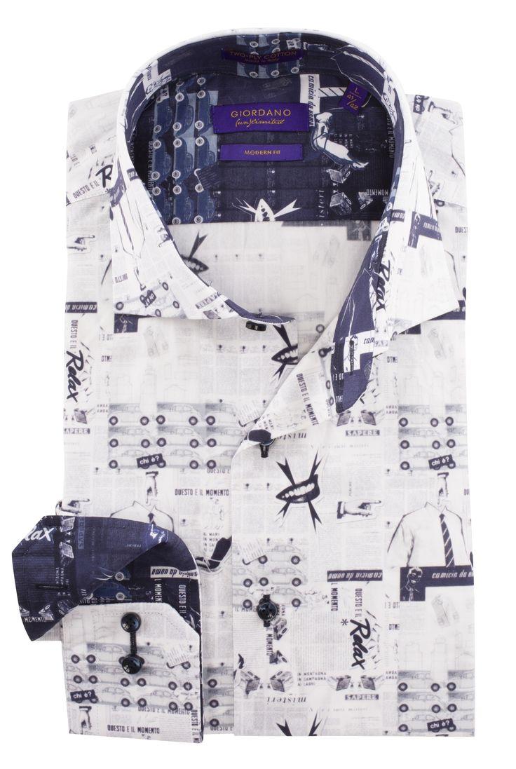 Nieuw bij Shirtsupplier.nl: #Giordano un limited overhemden print met auto's en vrouwen. shirtsupplier.nl/nl/overhemden/giordano-un-limited-camicia-overhemd-print-met-autos-overhemden-en-dames