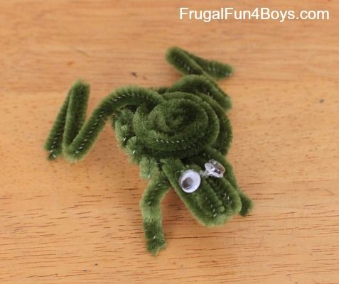 how to make a pipe cleaner dog easy