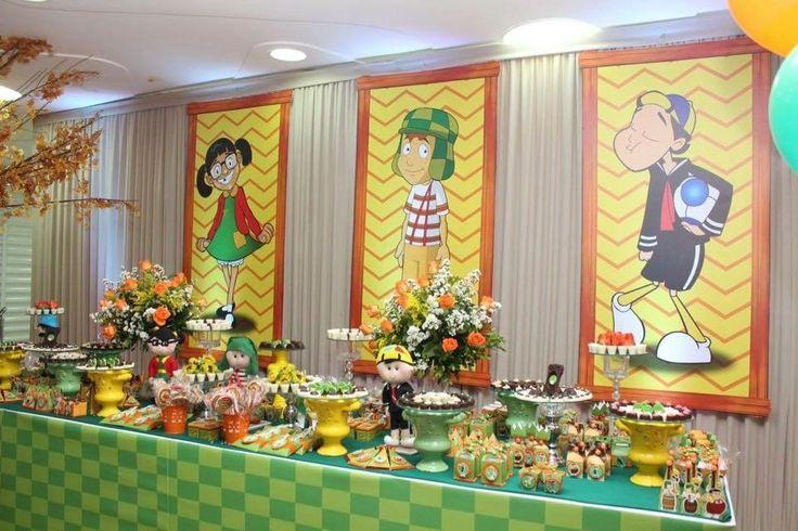Chavo Del Ocho candy table