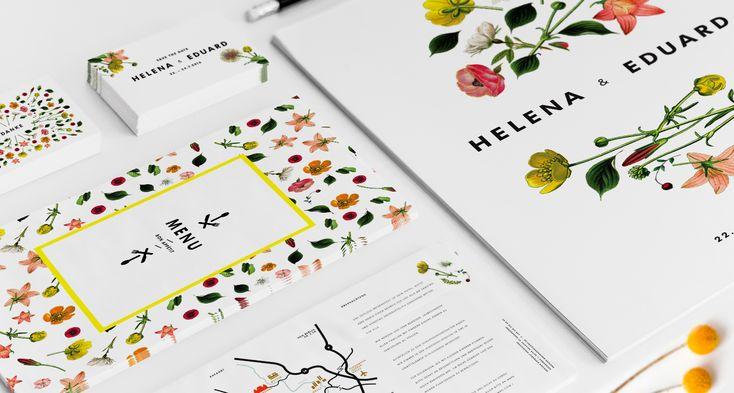 Wiesenblumen Hochzeitseinladung von Studio Ja Ja › BOHEMIAN FLOWERS - wie ein Gang über die Sommerwiese...
