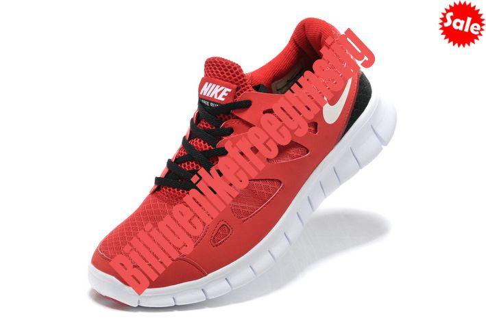 Red Schwarz Nike Free Run 2.0 Schuhe Damen 2014 QFBJ 8499414