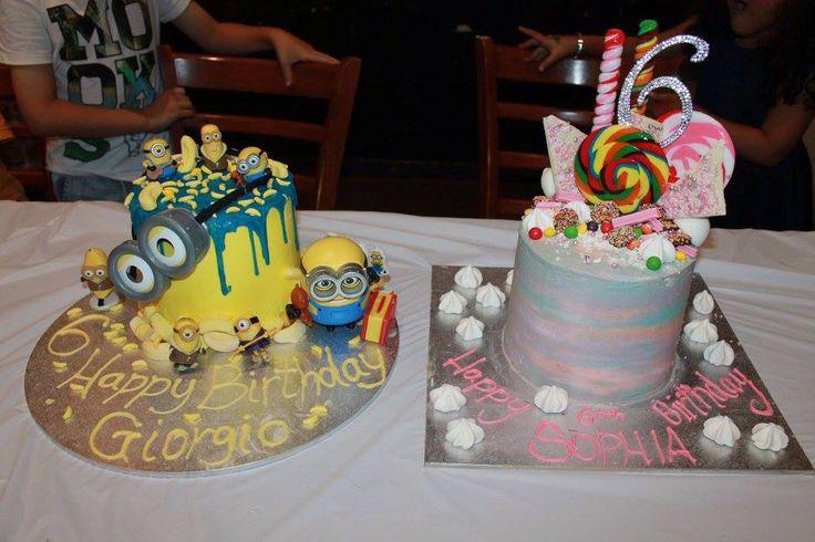 My Twins 6th Birthday Cake