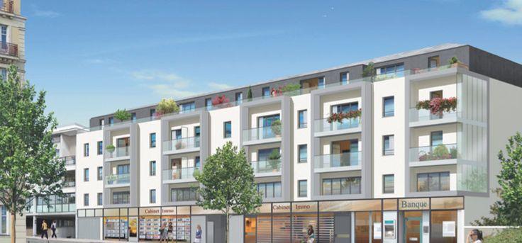 Programme immobilier neuf e n loi Duflot à Nantes : Le cinq