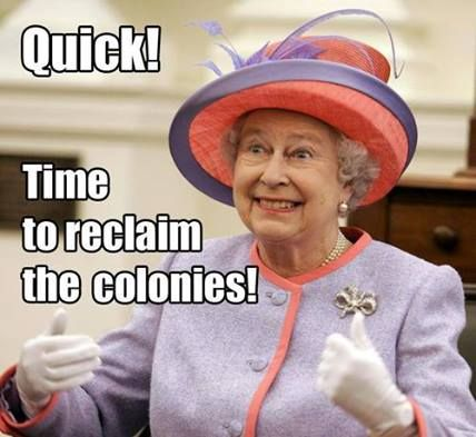 HAHAHAHAHAHA.: Queen Elizabeth, Hilarious Quotes, Funny Pictures, Red Hats, The Queen, Giggles, Happy Pictures, United States, Government Shutdown