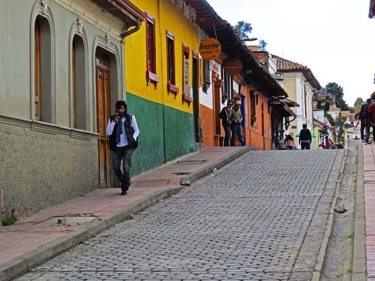 14. Una vista típica de la Candelaria por la zona del Chorro de Quevedo.
