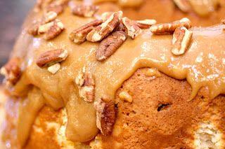 Apple Bundt Cake with Cream Cheese Filling Recipe.
