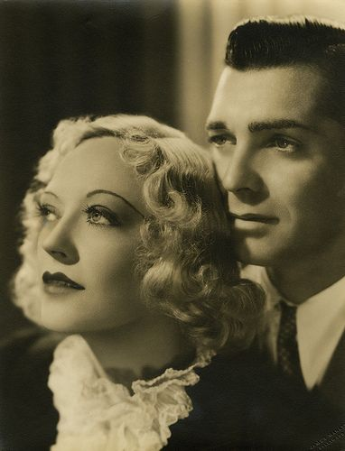 7000-0981 | Marion Davies and Clark Gable portraits from Cai… | Flickr