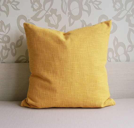 26 best mustard yellow throw pillows images on pinterest. Black Bedroom Furniture Sets. Home Design Ideas