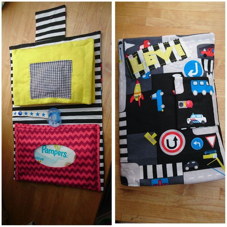 Kleine Wickeltasche für die Handtasche