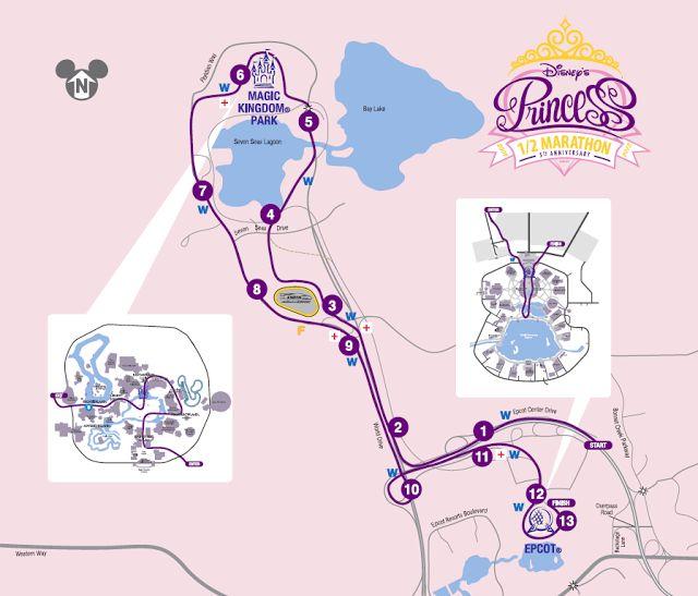 Disneyworld Princess Run Children's Miracle Network Feb 18-21