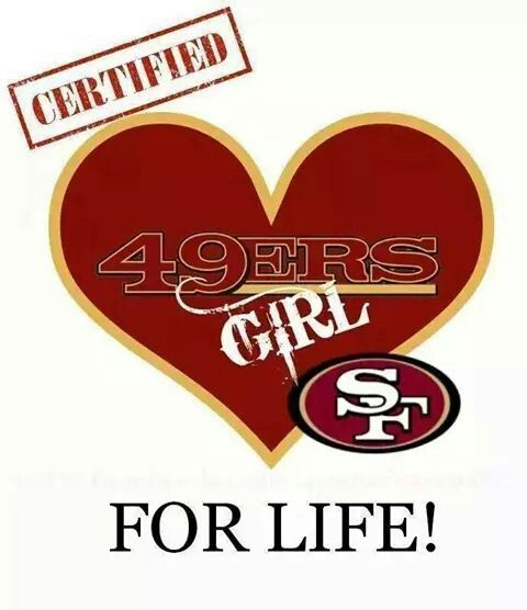 Niner girl! Ohhhhhhh yes !!!  ❤️ love my niners