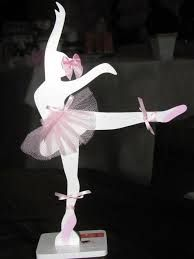 centro de mesa festa bailarina - Pesquisa Google